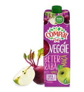 Portuguese Compal Beetroot & Apple Juice 1000ml