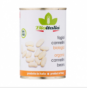 Organic Cannellini Beans(BPA-free Can)(400g)