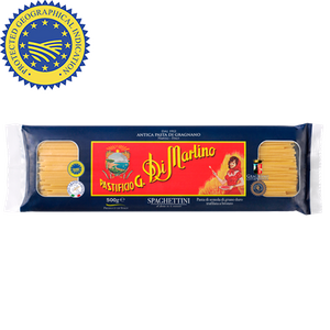 南意大利 108年 老字號  Di Martino  Spaghetti (低溫慢速烘乾、銅模製作,食家、名廚大讚的意大利麵) (500g)