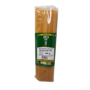 Organic Spaghetti from Altamura (Southern Italy)