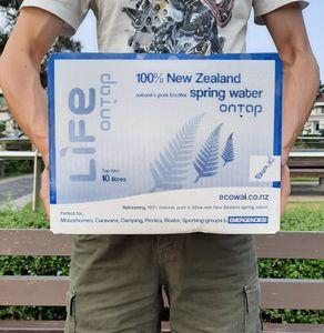 紐西蘭10公升高級礦泉水(超級環保紙箱包裝)(每人限訂一箱)