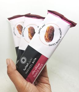 Dates with Almond Snack Pack  75g x 3 packs
