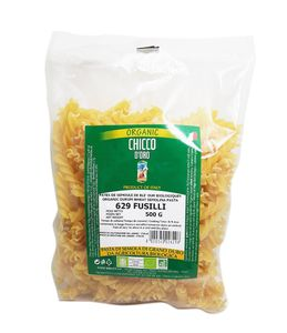 Organic Fusilli Pasta from Altamura (Southern Italy)