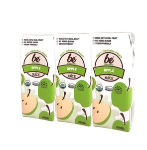 Organic Apple Juice 200ml  x 3 packs
