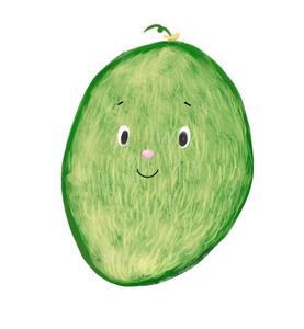 無果蠟 無防腐劑 有機高原泥土種植哈蜜瓜