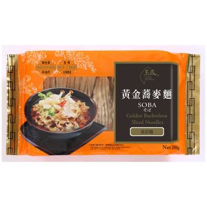 Golden Buckwheat Soba(Curly) from Taiwan