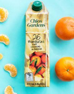 希臘鮮榨蜜柑汁(希臘著名柑橘產區出產,由26個靚蜜柑鮮榨而成)