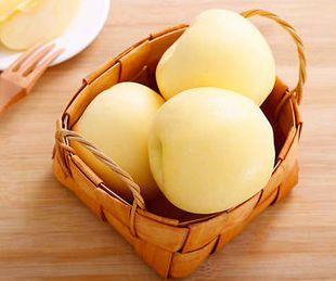 無果蠟 無防腐劑 有機高原泥土種植 金瑞雪蘋果(2個裝)