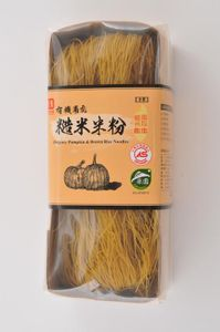 Organic Artisan Rice Noodles with Pumpkin from Taiwan