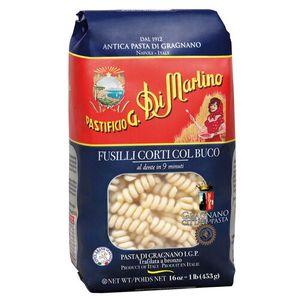 南意大利 108年 老字號  Di Martino 短旋轉麵 Fusilli Corti Col Buco (低溫慢速烘乾、銅模製作,食家、名廚大讚的意大利麵) (500g)