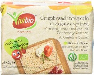 Organic Gluten Free Whole Rye Crispbread
