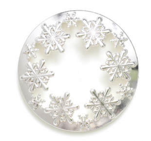 Metal Candle Topper (Snow flakes)