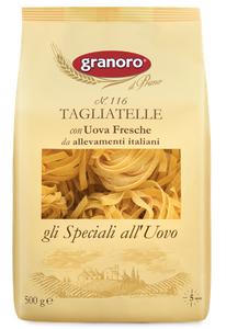 意大利 老牌子 寬扁蛋麵 麵餅(蛋比例有差不多20%)Tagliatelle with Eggs