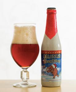 比利時 粉紅象 Delirium Noël 高分得獎 聖誕手工啤酒( 被公認為世界最好的比利時聖誕啤酒) (焦糖麥芽,水果,香料的味道都可嘗到,口感多層次)(酒評人網Ratebeer95 分比利時啤酒)