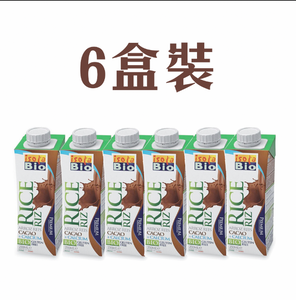 Organic Rice Drink with Cocoa & Calcium(250ml x 6)