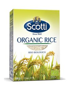 Italian Organic Ribe Rice for Risotto