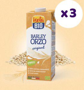 意大利有機Orzo大麥奶(有烤過的大麥香,令人想起麥精)(1公升裝)(大特價 3包裝!!)