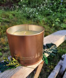 Beeswax Foundation - Pure beeswax hand poured candle (unscented)