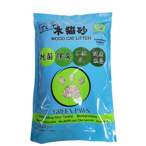 GREEN PAWS Wood Cat Litter 4.5 KG (Eco-friendly) ( Made in Hong Kong)