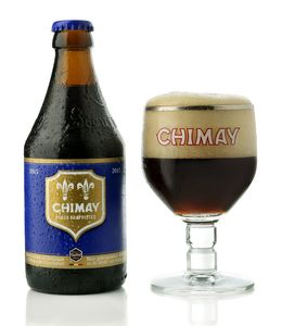 Chimay Blue Trappist Beer(Ratebeer: 100pts)