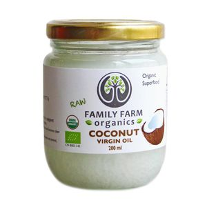 Organic Cold Pressed Coconut Oil (200ml)
