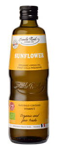 French organic sunflower oil