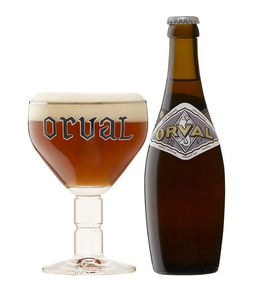 Orval Trappist beer (Ratebeer: 99 pts)