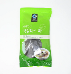 Korean Kelp(cut into small pieces)(great for soup base)(150g)