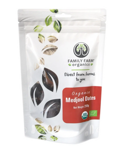 Organic Medjool Dates (250g)