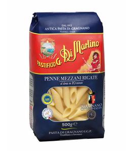 南意大利 108年 老字號  Di Martino  兩頭尖管意粉 Penne (低溫慢速烘乾、銅模製作,食家、名廚大讚的意大利麵) (500g)