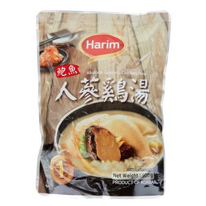 Korean Ginseng Chicken Soup with Abalone 900g