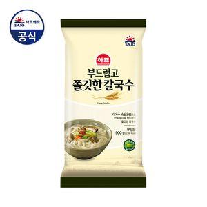 韓國 無添加 彈牙 刀削粗麵 (900g)( 大大包,超經濟,可慢慢享用!)