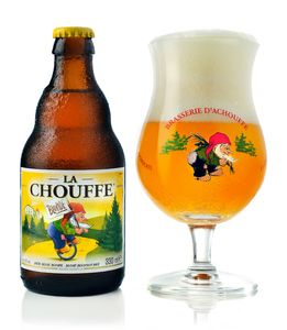 比利時 小矮人 La Chouffe (Ratebeer 酒評網: 98分)(Belgian Blonde)(330ml x 2)
