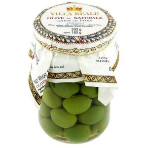 Sicilian Whole Green Olives in Brine