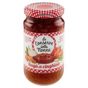 意大利  無添加  野豬肉番茄肉醬 (香港罕見!) (豬味跟番茄味都超級濃郁!)(190g)