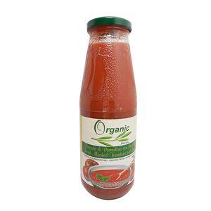 意大利 有機番茄醬配有機羅勒葉