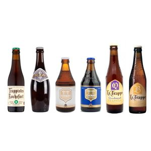 Trappist Beer Set(6 bottles of premium Belgian Beer)