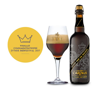 Gouden Carolus Cuvée Van De Keizer Whisky Infused(750ml)(Belgian Strong Ale)(Ratebeer 99 pts)