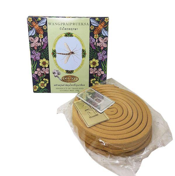 Thai all natural mosquito-repellent incense