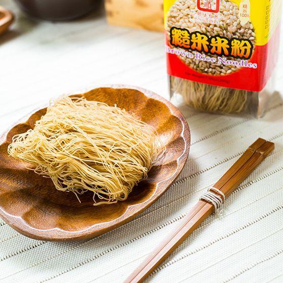 台灣 即食糙米米粉(糙米無農藥、無化肥栽種)(煮2分鐘即可享用!)(糙米米粉做炒米粉超有米香) 200g