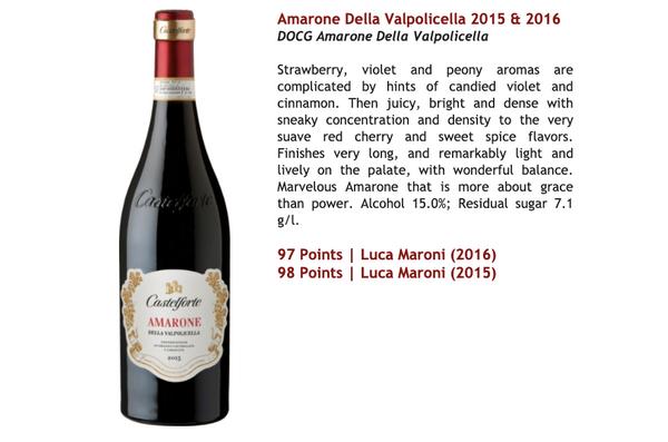 Amarone Della Valpolicella 2016 DOCG (Luca Maroni: 97 pts)(Amarone Wine with multiple awards)