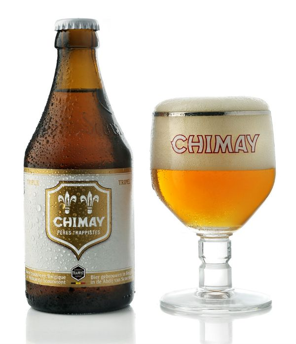 Chimay Trappist Beer White Triple(Rateber: 98pts)