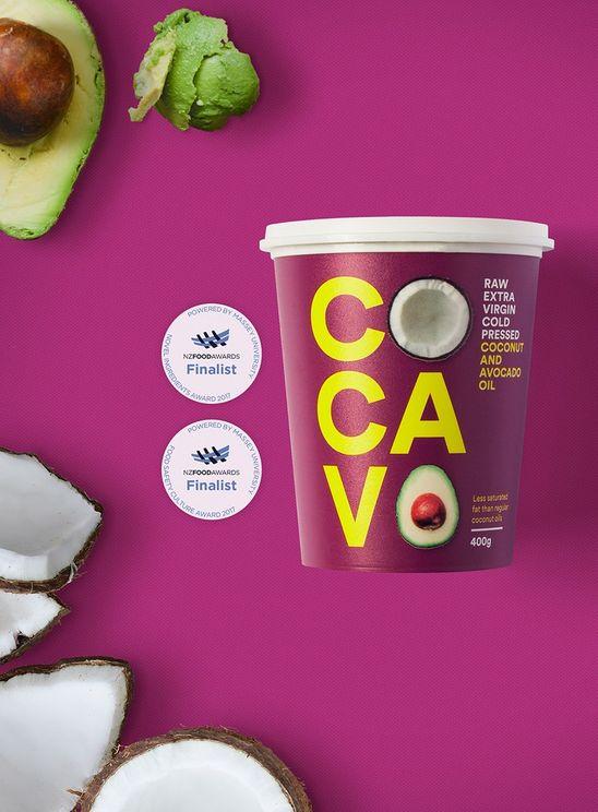 Cocavo 高級冷壓椰子牛油果食油(原味) (400g)