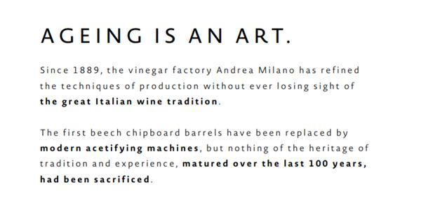 意大利 正宗Modena出產 12年陳釀 金葉 Balsamic Vinegar 葡萄黑醋(意大利自1887年成立,130多年製作經驗老字號用心製作)