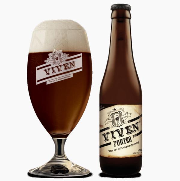 比利時 Viven Smoked Porter 啤酒(Ratebeer酒評人網: 95分) (330ml x 2)