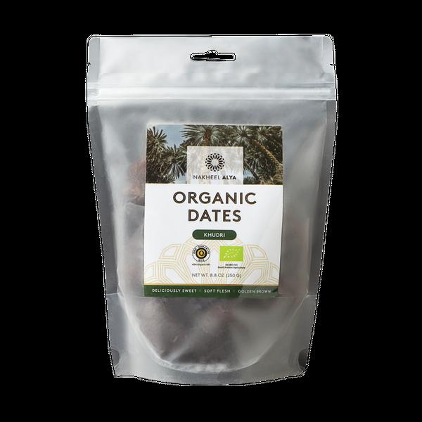有機椰棗 Khudri品種(無核)(補充能量最強品種之一,甜味適中,可以清楚吃到棗的原味,有汁及耐嚼) 250g