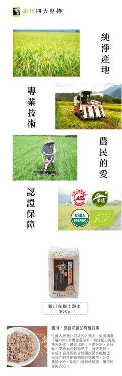 Organic Ten Grains Rice from Taiwan
