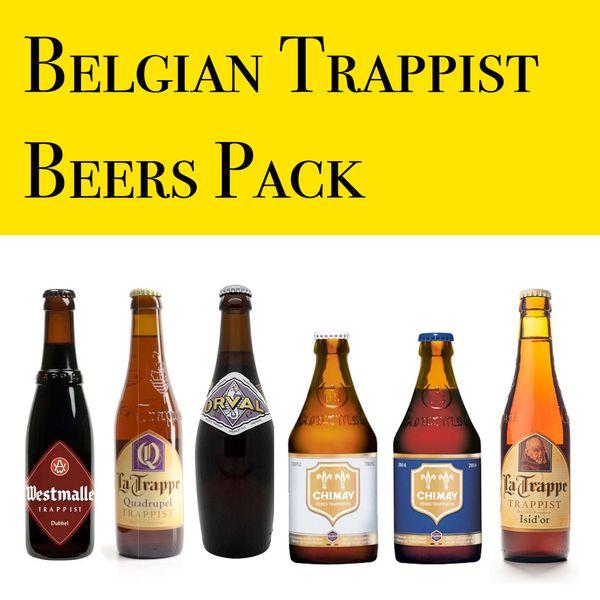 Trappist Beer Set(6 bottles of premium Belgian Beer)